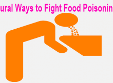 natural way to fight food poison